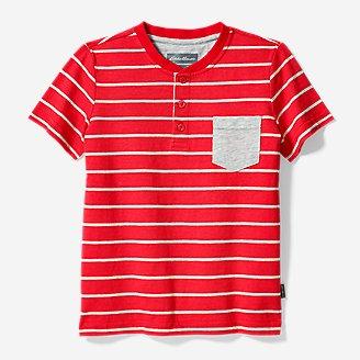 Thumbnail View 1 - Boys' Territory Short-Sleeve Henley T-Shirt
