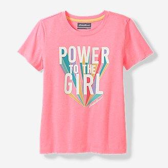 Thumbnail View 1 - Girls' Spring Graphic T-Shirt