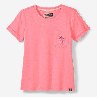 Thumbnail View 1 - Girls' Terra Short-Sleeve Pocket T-Shirt