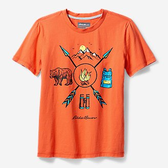 Thumbnail View 1 - Boys' Summer Graphic T-Shirt
