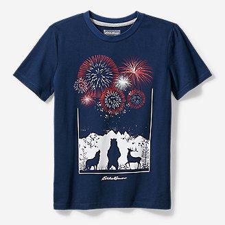 Thumbnail View 1 - Boys' Americana T-Shirt