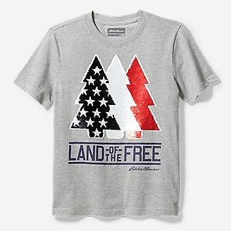 Thumbnail View 1 - Boys' Americana Flip Sequin T-Shirt