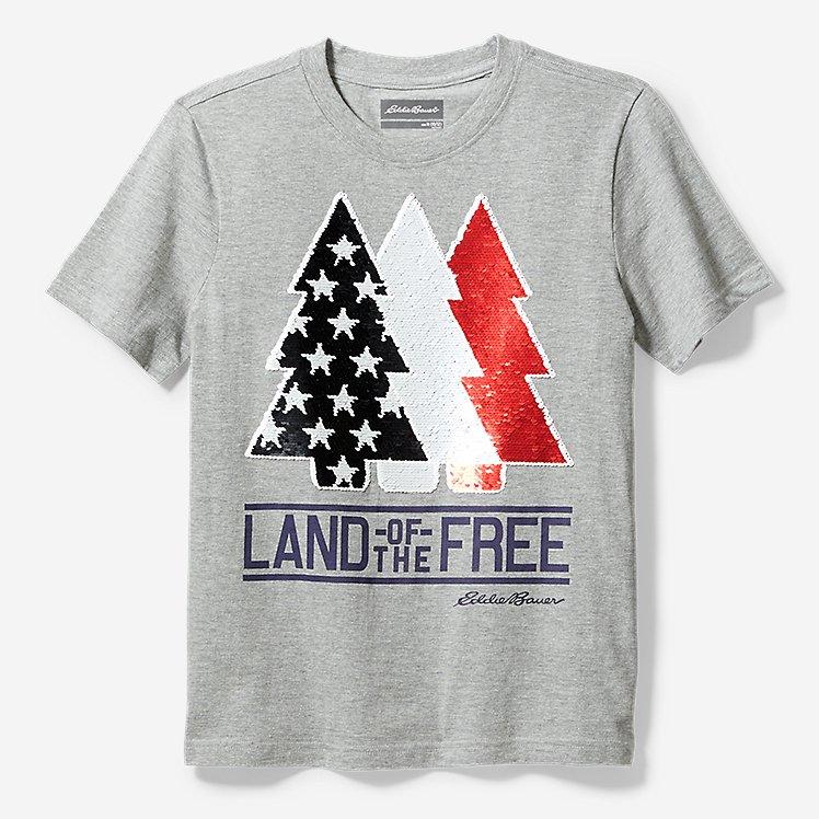 Boys' Americana Flip Sequin T-Shirt large version