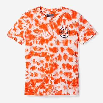Thumbnail View 1 - Boys' Summer Graphic T-Shirt - Tie Dye