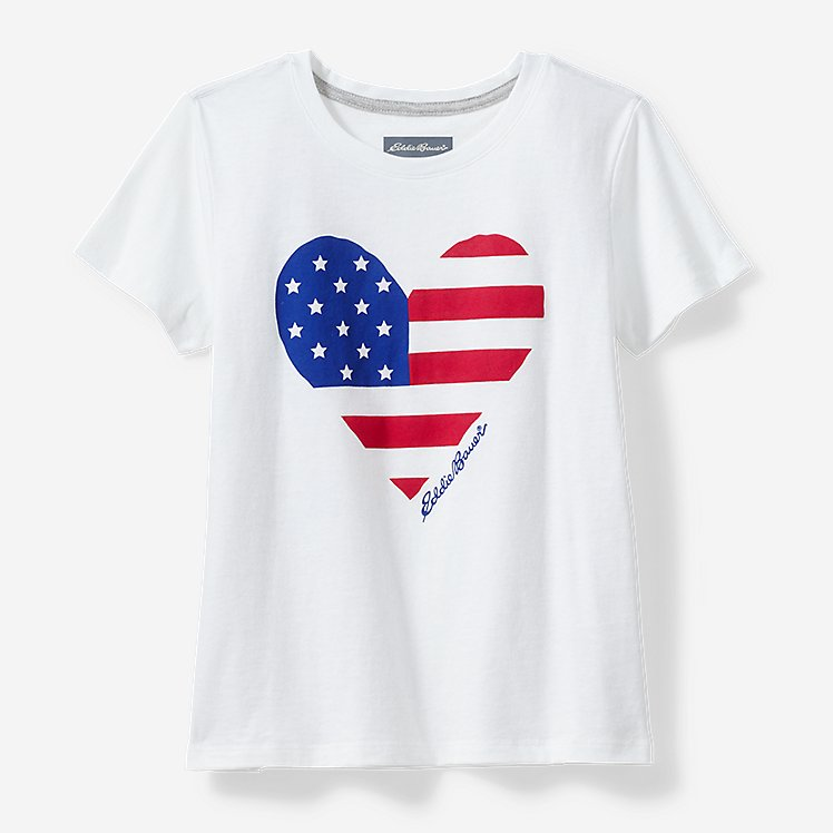 Girls' Americana T-Shirt large version