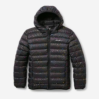 Thumbnail View 1 - Kids' CirrusLite Down Hooded Jacket