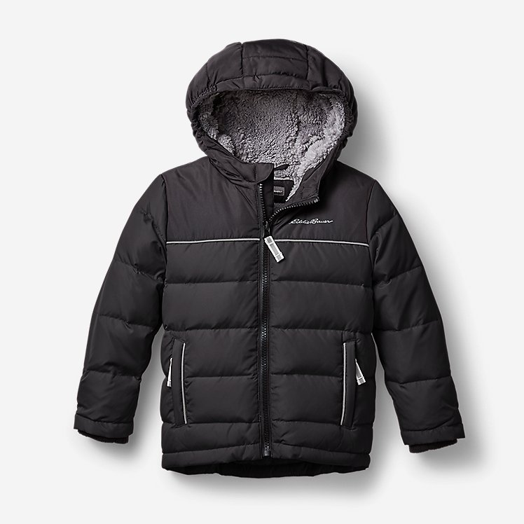 Toddler Boys' Classic Down Hooded Jacket large version