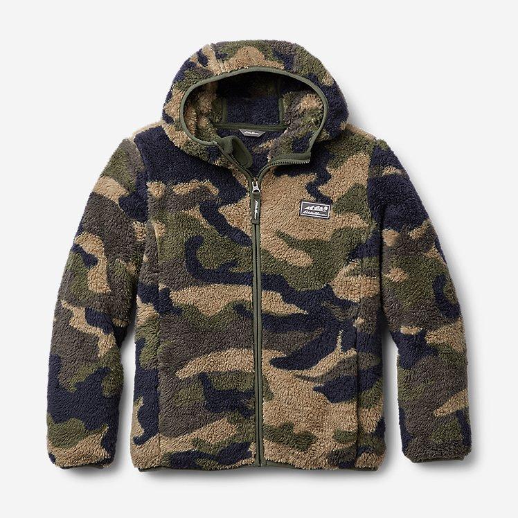 Kids' Quest Plush Fleece Hooded Jacket - Print large version