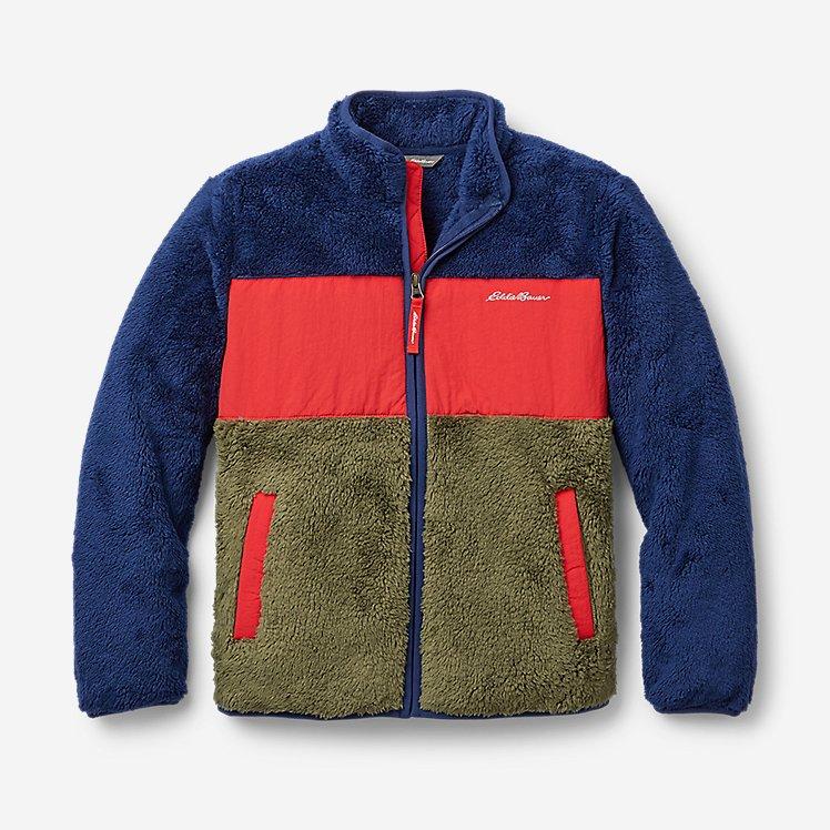 Kids' Quest Plush Fleece Jacket - Color Block large version