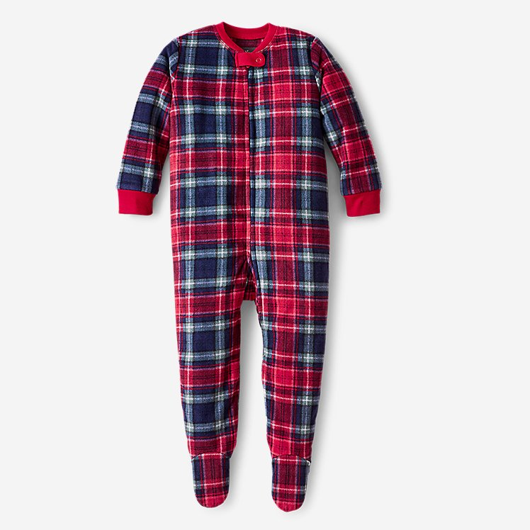Infant Quest Fleece Footed One-Piece large version