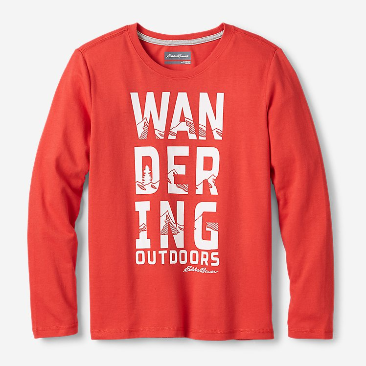 Boys' Long-Sleeve Graphic T-Shirt large version