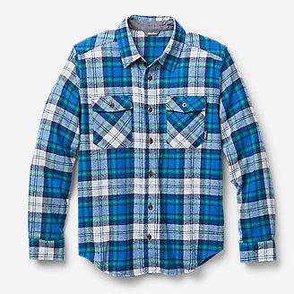 Thumbnail View 1 - Boys' Eddie's Favorite Flannel Shirt - Print