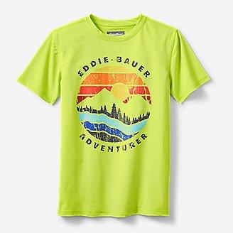 Thumbnail View 1 - Boys' Sea Spray Short-Sleeve Rashguard T-Shirt