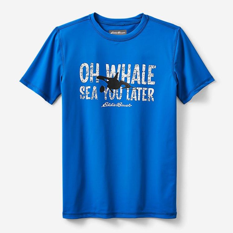 Boys' Sea Spray Short-Sleeve Rashguard T-Shirt large version