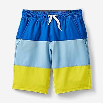Thumbnail View 1 - Boys' Sea Spray Swim Shorts - Color Block