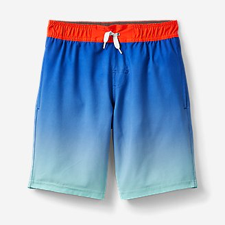 Thumbnail View 1 - Boys' Sea Spray Swim Shorts - Magic Print