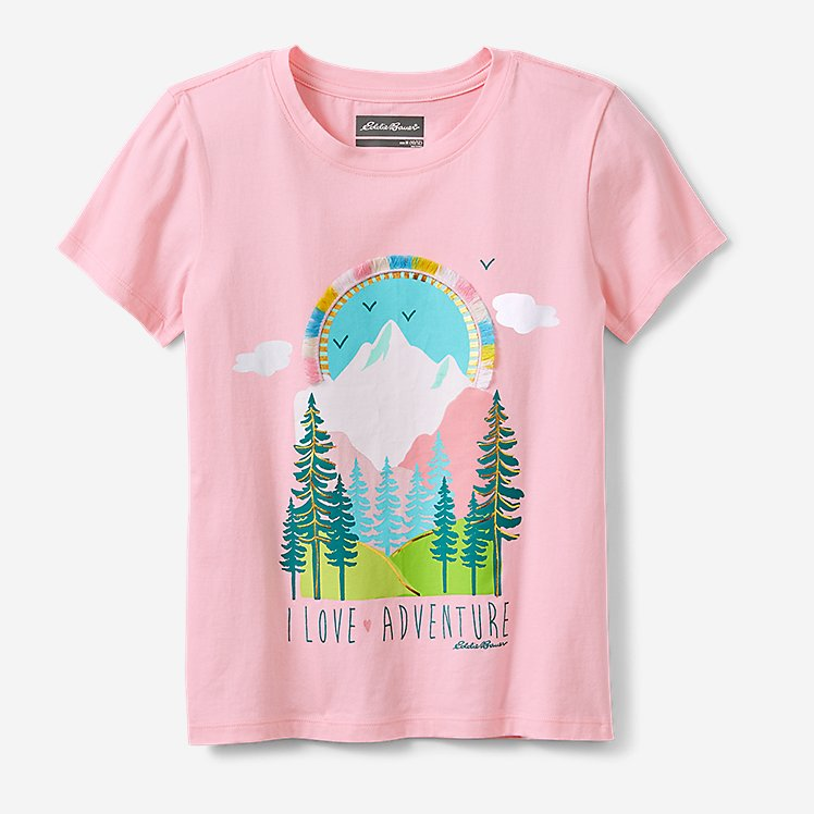 Girls' Graphic T-Shirt large version