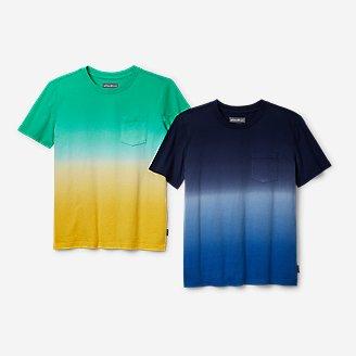 Thumbnail View 1 - Boys' Territory Short-Sleeve Pocket T-Shirt Bundle - Ombré