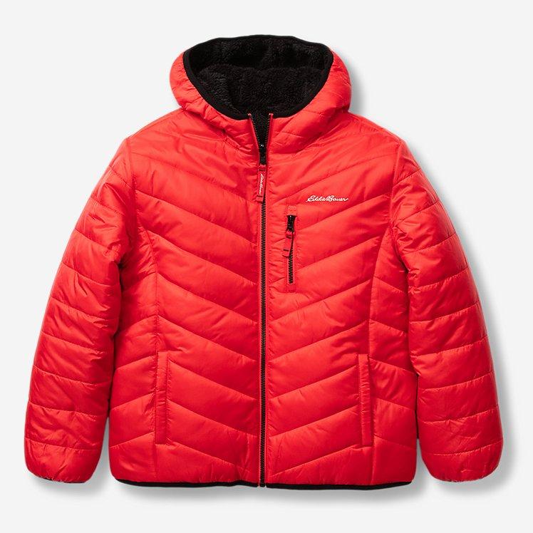 Boys' Deer Harbor Reversible Hooded Jacket large version