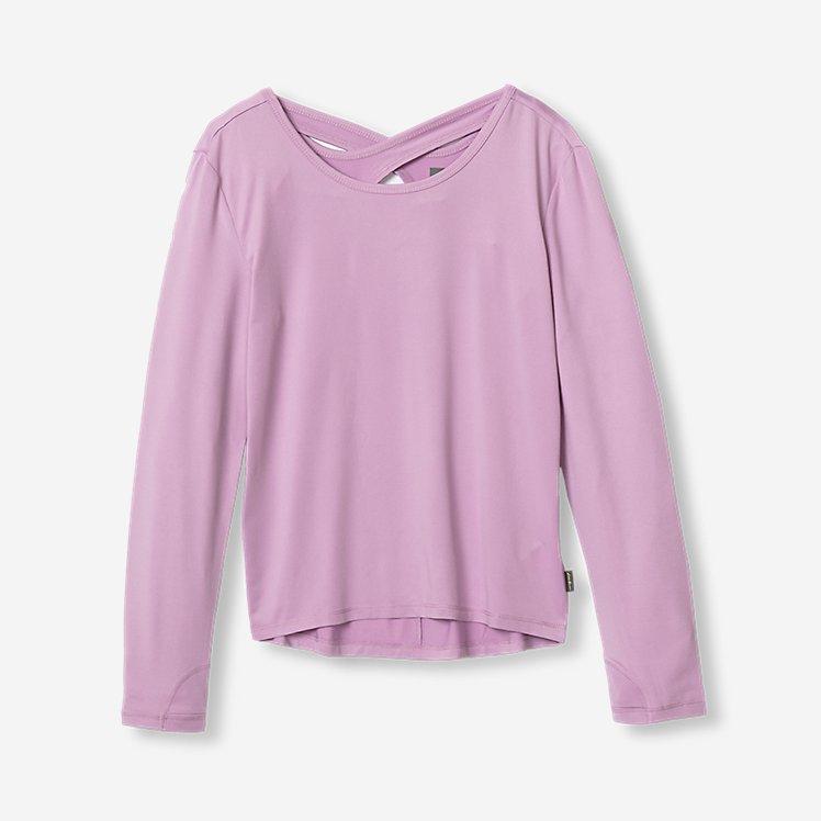 Girls' Cross Back Trail T-Shirt large version