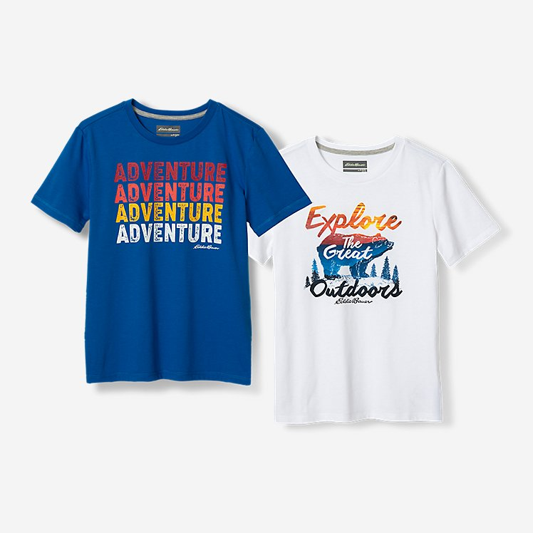 Boys' Graphic T-Shirt - 2-Pack large version
