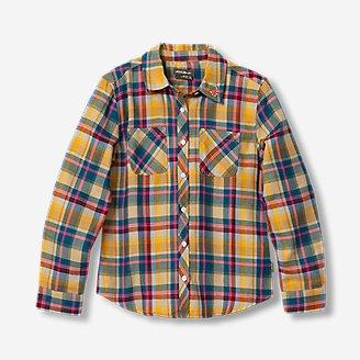 Thumbnail View 1 - Girls' Stine's Favorite Flannel Shirt - Plaid