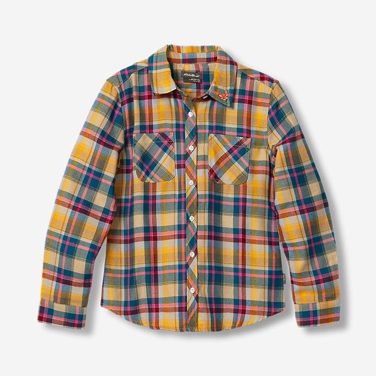 Girls' Stine's Favorite Flannel Shirt - Plaid large version