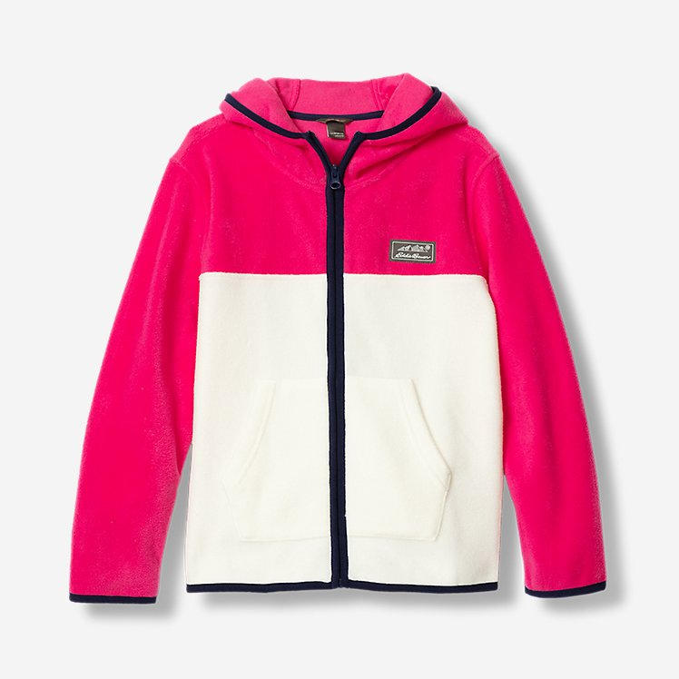 Girls' Quest Fleece Full-Zip Hooded Jacket large version