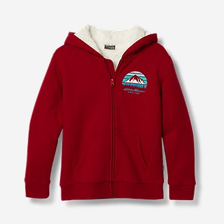 Thumbnail View 1 - Boys' Camp Fleece Lined Hoodie