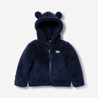 Thumbnail View 1 - Infant Quest Plush Fleece Hooded Jacket