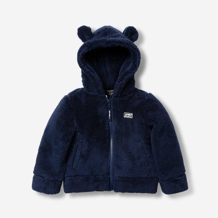 Infant Quest Plush Fleece Hooded Jacket large version
