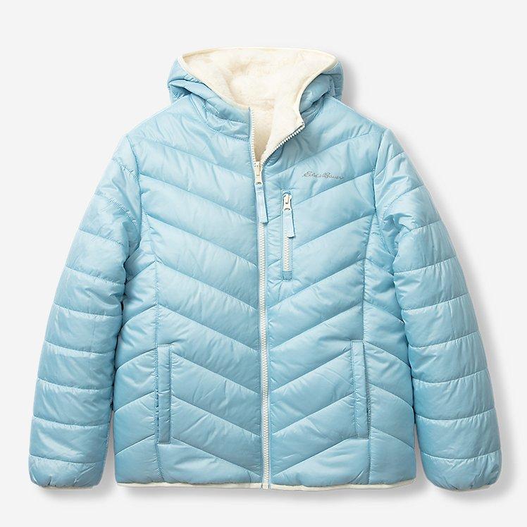 Girls' Deer Harbor Reversible Hooded Jacket large version