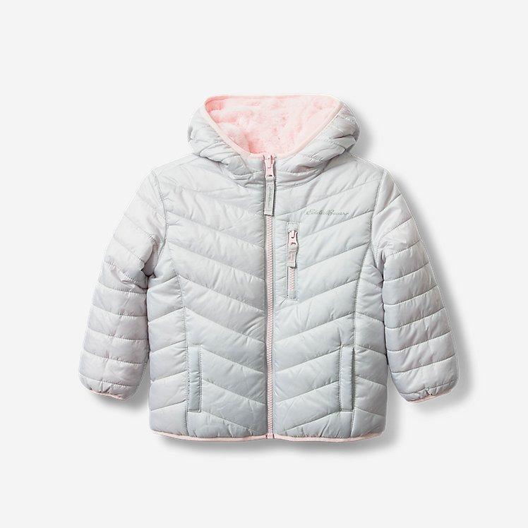 Toddler Girls' Deer Harbor Reversible Hooded Jacket large version