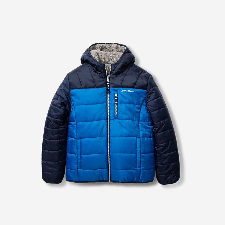 Toddler Boys' Deer Harbor Reversible Hooded Jacket - Color Block large version