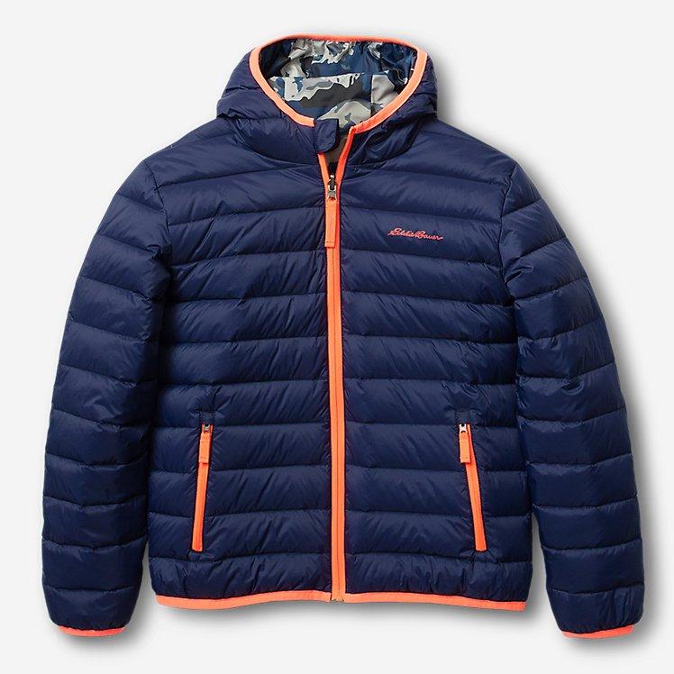 Boys' Cirruslte Reversible Down Hooded Jacket large version