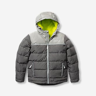 Thumbnail View 1 - Toddler Boys' Classic Down Hooded Jacket