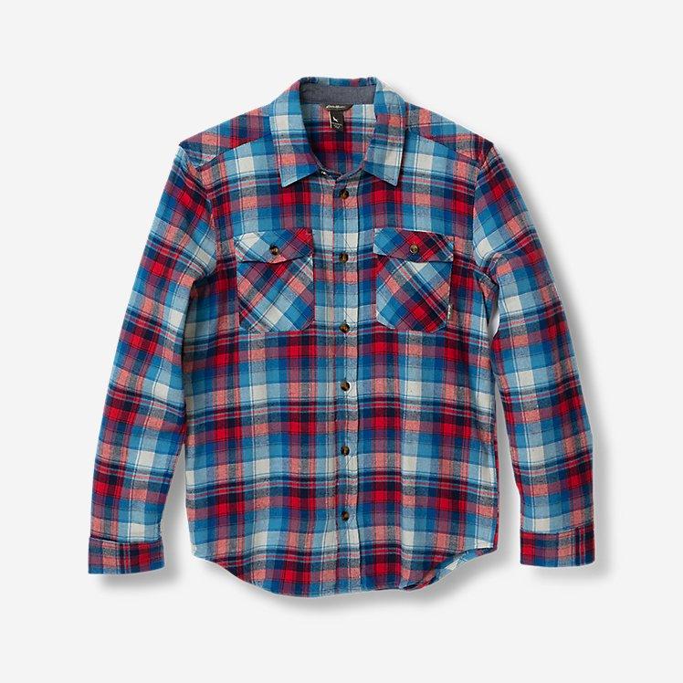 Boys' Eddie's Favorite Flannel Shirt - Print large version