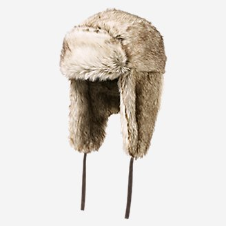 Thumbnail View 1 - Truckee Faux Fur Trapper Hat