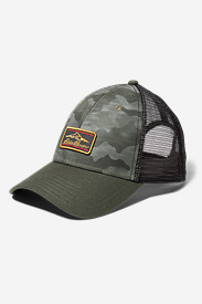 Graphic Hat - Camo Mountain