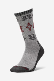 Men's CoolMax® Trail Crew Socks - Pattern