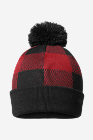 Snow Bridge Pom Beanie