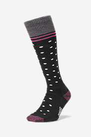 Point6® Patterned Ski Socks - Medium