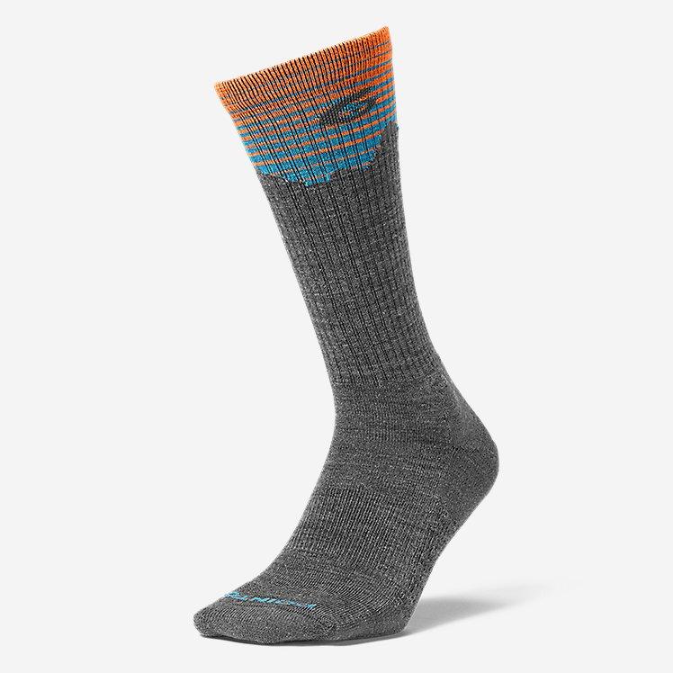 Point6® Hiking Peak Light Crew Socks large version
