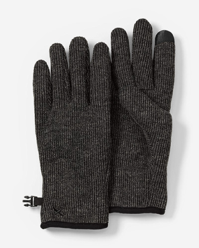 Men's Windcutter® Fleece Touchscreen Gloves by Eddie Bauer