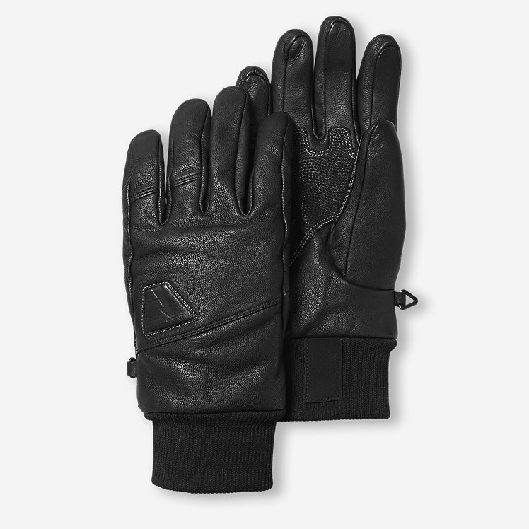 Mountain Ops Leather Gloves large version