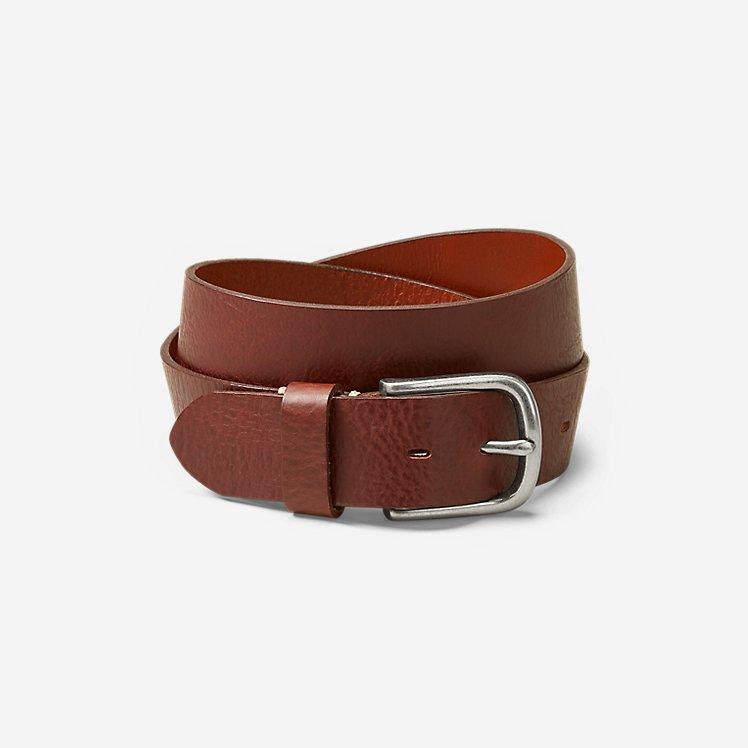 Men's  Leather Jean Belt large version