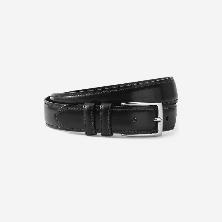 Men's Feather Edge Leather Belt large version