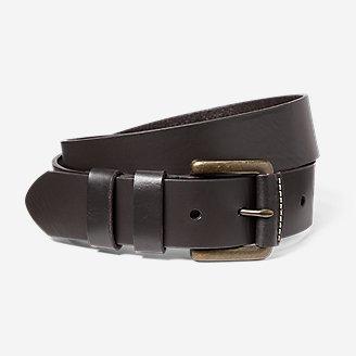 Thumbnail View 1 - Men's American Sportsman Leather Belt