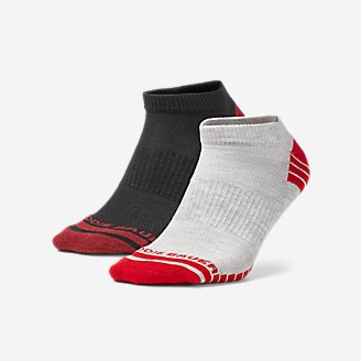 Thumbnail View 1 - Men's Active Pro COOLMAX® Low Socks - 2 Pack