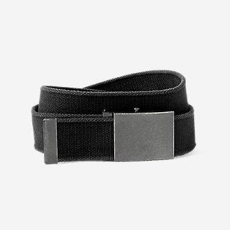 Thumbnail View 1 - Men's Web Plaque Belt